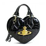 Vivienne Westwood(ヴィヴィアンウエストウッド) ハンドバッグ CHANCERY 5009 ブラック/ゴールドの詳細ページへ