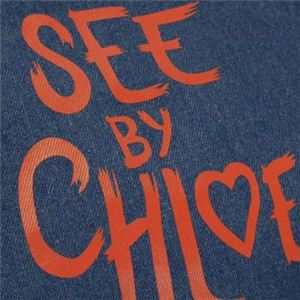SEE BY CHLOE(シーバイクロエ) トートバッグ SEE BY HEART 9S7116 207 ネイビー