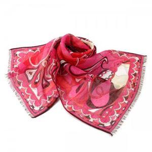 Emilio Pucci(エミリオプッチ) スカーフ 89 1 ピンクのデザイン
