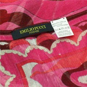 Emilio Pucci(エミリオプッチ) スカーフ 89 1 ピンクのロゴマーク