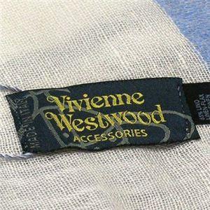 Vivienne Westwood(ヴィヴィアンウエストウッド) スカーフ F676 1 ホワイトのロゴマーク