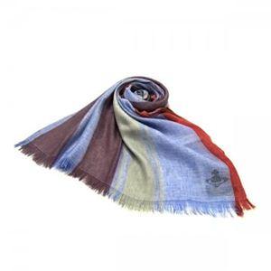 Vivienne Westwood(ヴィヴィアンウエストウッド) スカーフ F676 3 ブルーのデザイン