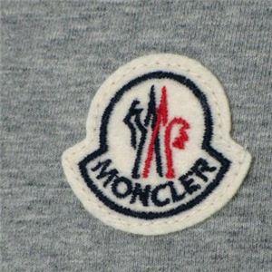 MONCLER(モンクレール) メンズポロシャツ 8014700 985 グレー (L66.5 S20.5 W51 SH43.5 M)