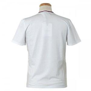 MONCLER(モンクレール) メンズポロシャツ 8014700 1 ホワイト (L68.5 S21 W54 SH45.5 L)