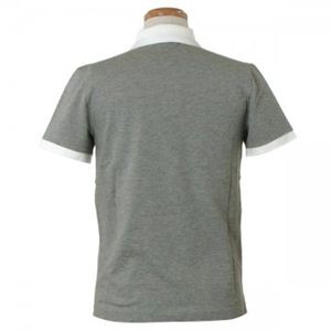 MONCLER(モンクレール) メンズポロシャツ 8316450 985 グレー (L64.5 S18.5 W46 SH42 S)