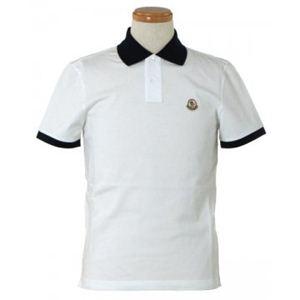 MONCLER(モンクレール) メンズポロシャツ 8316450 1 ホワイト (L66.5 S19 W49 SH43.5 M)