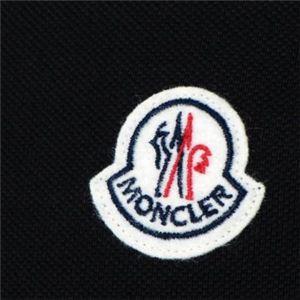 MONCLER(モンクレール) メンズポロシャツ 8316450 999 ブラック (L66.5 S19 W49 SH43.5 M)
