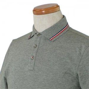 MONCLER(モンクレール) メンズポロシャツ 8334800 985 グレー (L68 S20.5 W48.5 SH44 M)