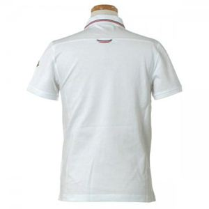MONCLER(モンクレール) メンズポロシャツ 8334800 1 ホワイト (L70 S21 W52 SH46 L)