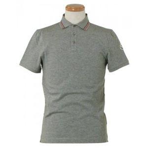 MONCLER(モンクレール) メンズポロシャツ 8334800 985 グレー (L70 S21 W52 SH46 L)