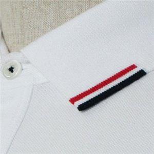 MONCLER(モンクレール) メンズポロシャツ 8335900 1 ホワイト (L65 S20 W46 SH42 S)