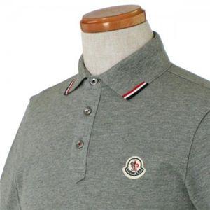 MONCLER(モンクレール) メンズポロシャツ 8335900 985 グレー (L65 S20 W46 SH42 S)
