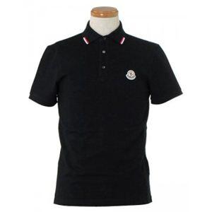 MONCLER(モンクレール) メンズポロシャツ 8335900 999 ブラック (L65 S20 W46 SH42 S)