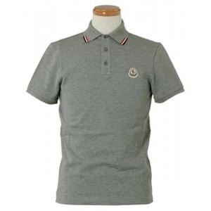 MONCLER(モンクレール) メンズポロシャツ 8335900 985 グレー (L65 S20 W49 SH44 M)