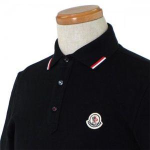 MONCLER(モンクレール) メンズポロシャツ 8335900 999 ブラック (L67 S20 W52 SH46 L)