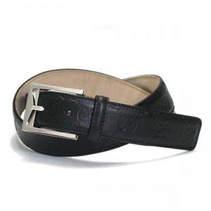 Gucci(グッチ) ベルト 223901 1000 ブラック (長さ94.5/104.5)