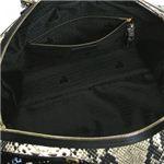 LANVIN(ランバン) ショルダーバッグ AW0UAACANP5A N1 ブラック/ホワイト