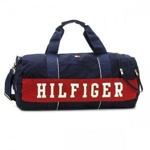 TOMMY HILFIGER(トミーヒルフィガー) ボストンバッグ  6913576 467 NAVY/ RED