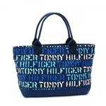 TOMMY HILFIGER(トミーヒルフィガー) トートバッグ STENCIL GROUP 6912243 482 ベージュ/RD