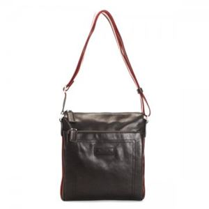 Bally(バリー) ナナメガケバッグ TUSTON-SM 261 CHOCOLATE RED/BEIGE