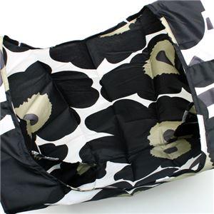 marimekko(マリメッコ) トートバッグ  40470 30 WHITE/BLACK/OLIVE