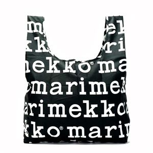 marimekko(マリメッコ) トートバッグ  41395 910 BLACK/WHITE
