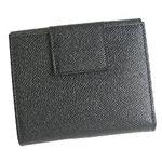 ブルガリ 23283 BVLGAR BK 二つ折り財布・黒