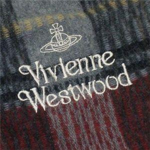 Vivienne Westwood(ヴィヴィアンウエストウッド) マフラ- 2 F551 1 レッド L191W31