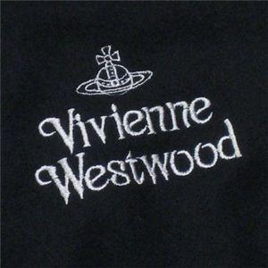 Vivienne Westwood(ヴィヴィアンウエストウッド) マフラ- 2 F552 12 ブラック L170W31