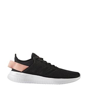 adidas(アディダス) NEO CLOUDFOAM QT FLEK W AQ1622 コアブラック×コアブラック×トレースピンク 22.5cm