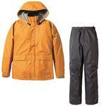 PUROMONTE(プロモンテ) Rain Wear ゴアテックス レインスーツ Men's SR135M オレンジ×チャコール XLの詳細ページへ