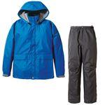 PUROMONTE(プロモンテ) Rain Wear ゴアテックス レインスーツ Men's SR135M ロイヤルブルー×チャコール XLの詳細ページへ