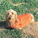 【ペット用】ドギーマン レインウェア 3号 オレンジ