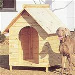 【ペット用】テラオ 屋外両屋根犬舎 木屋根 LL SP-LL