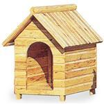 【ペット用】テラオ 屋外両屋根犬舎 木屋根 M SP-M