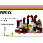 スウェーデン王室御用達ブランド BRIO(ブリオ) カラーブロック100