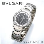 BVLGARI ソロテンポ ブレス ST29BSSD/BL/ブラック・レディース