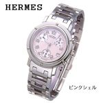 <strong>HERMES(エルメス) </strong><strong>クリッパー</strong> クロノグラフ レディース CL1.310.214/3842/ピンクシェル