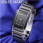 DOLCE SEGRETO(ドルチェ・セグレート) メンズ ブレスウォッチ RD100BK5/メンズ・ブラック