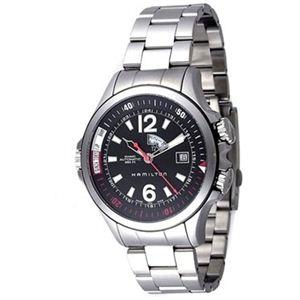 HAMILTON(ハミルトン) メンズ 腕時計 カーキネイビー H77555135