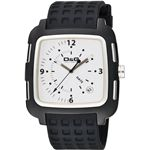 D&G ディーアンドジー 腕時計 SQUAREホワイトDW0361