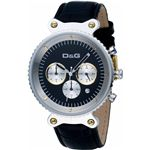 D&G ディーアンドジー 腕時計 RHYTHMブラックDW0378