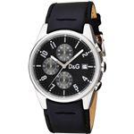 D&G ディーアンドジー 腕時計 SANDPIPERブラック3719770097