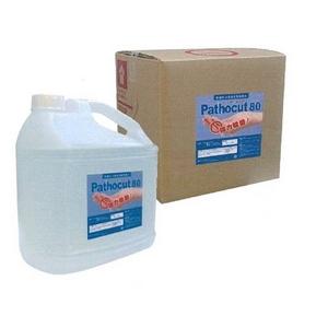 新型インフルエンザ対策にも!手肌に優しい安全性と除菌力!【Pathocut 80(パソカット)】 4L