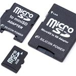 SILICON POWER microSDカード 2GB 60倍速