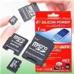 SILICON POWER microSDカード 1GB 60倍速 SPJ060SDT-1G