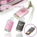 pqi USBメモリーストラップ 4GB BF14-4032(ブラック)