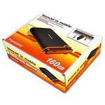 Transcend ポータブルHDD アンチショック 160GB TS160GSJ25M