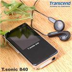 Transcend MP3プレーヤー T.sonic 840
