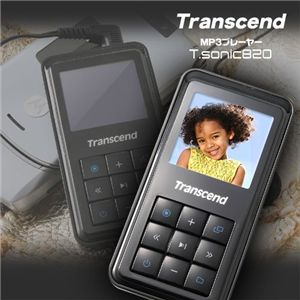 Transcend MP3プレーヤー T.sonic820 4GB の詳細をみる